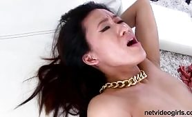 Threesome taking turns,Asian girl hardcore videos